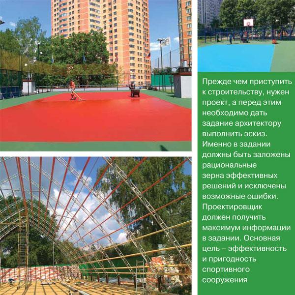 Проектирование теннисных кортов. Предпроектные решения