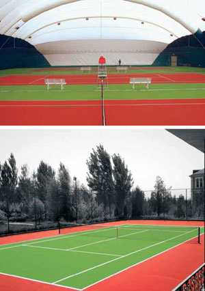 «Хард». Покрытие для современного теннисного корта