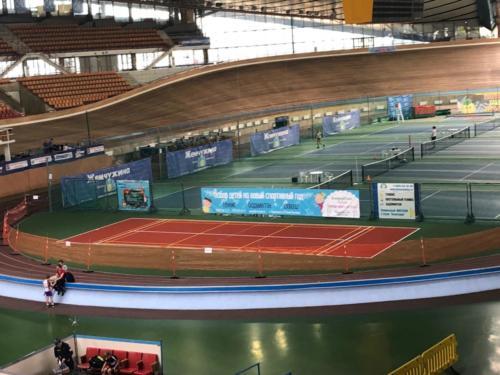 Москва, ул. Крылатская, 1 теннисный корт, хард