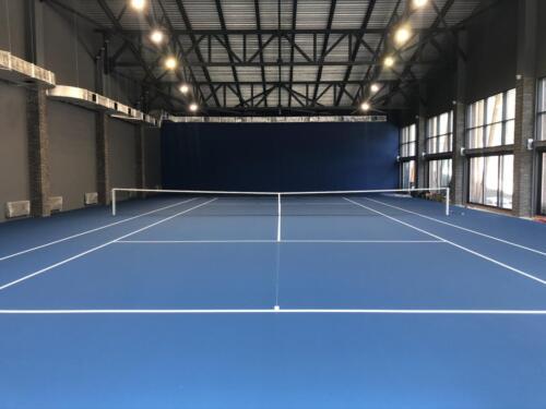 Красная поляна, Краснодарский край, 1 теннисный корт, хард