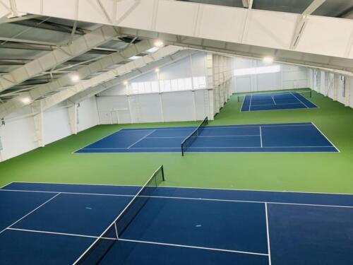 г. Рыбинск, 3 теннисных корта, хард