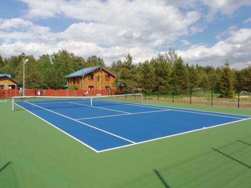 г. Волхов, 1 теннисный корт, хард