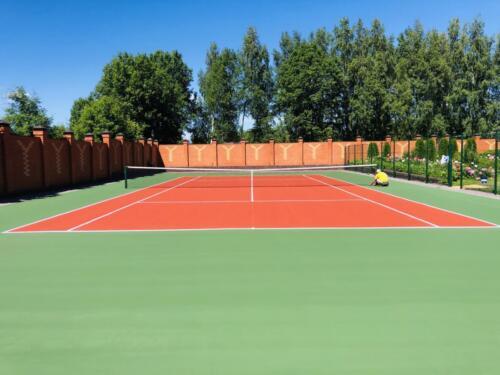 г. Клин, 1 теннисный корт, хард